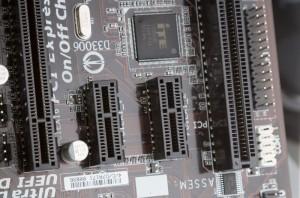Слоты для других периферийных устройств PCI e