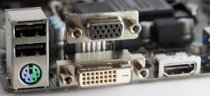 Разъёмы для подключения мониторов клавиатур USB устройств, такие как HDMI DVI VGA PS2